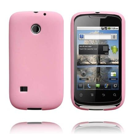 Soft Shell (Vaaleanpunainen) Huawei Sonic Silikonisuojus