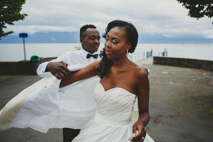 Lausanne Lake Documentary Wedding Photographer