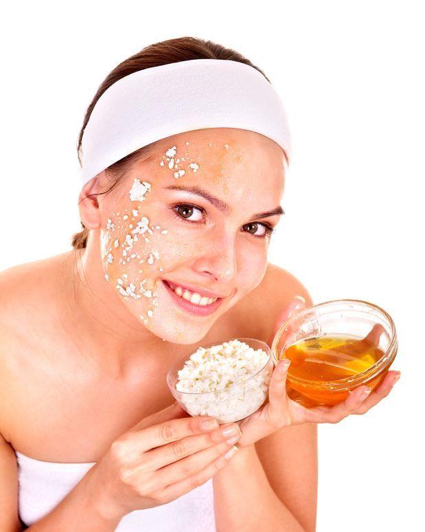 mascarilla de arroz para rejuvenecer rostro