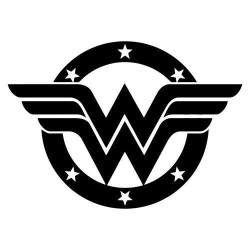Wonder Woman Die Cut Vinyl Decal PV1914