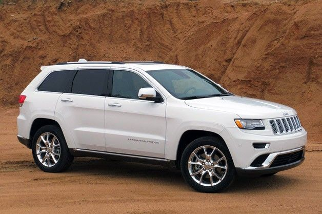 2014 Jeep Grand Cherokee - the brand-new 3.0-liter EcoDiesel V6 stealing the spotlight