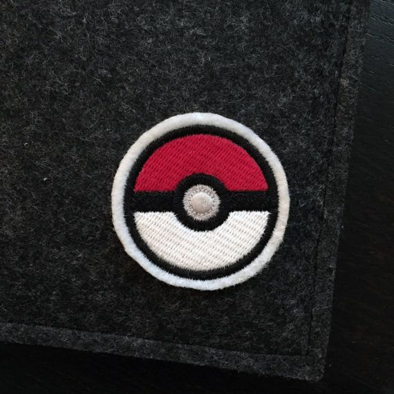 Got to catch them all! This pokeball patch will show everyone your love of the game. A premium patch embroidered with vivid colours on a durable felt base. It measures approximately 2.0 x 2.0  This patch can be sewn or ironed on to your favorite knapsacks, jeans or jackets. For removable options, choose our pin backed version that has a bar pin fastened to the back.