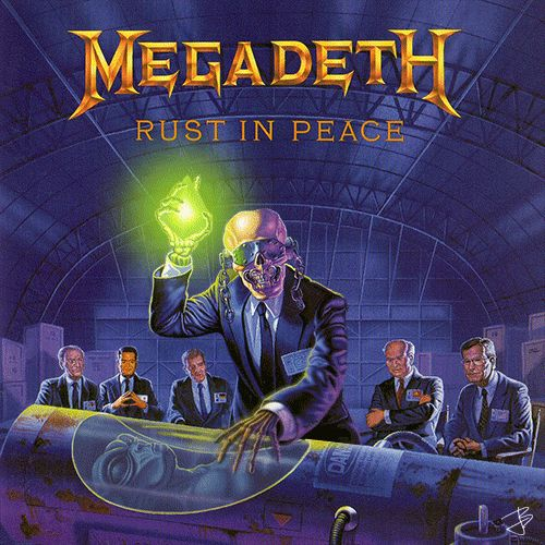 Megadeth Rust in Peace Animated