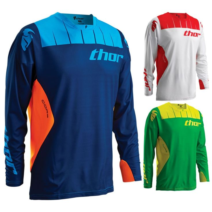 Thor MX Core Contro Mens Off Road Dirt Bike Racing Motocross Jerseys