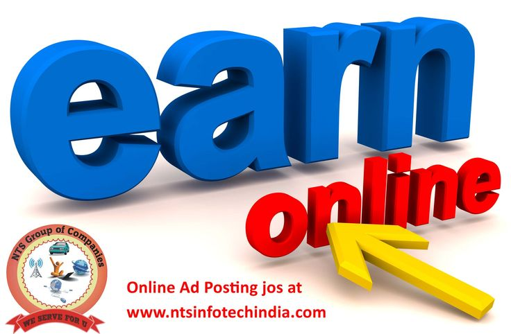 Earn #Money-NTS Infotech We are increasing the employability by offering online ad posting #jobs view more @ http://www.ntsinfotechindia.com/