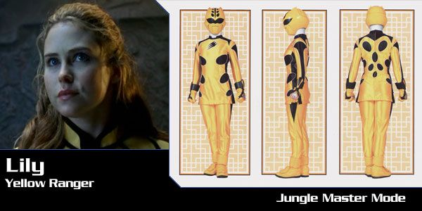 Lily Chilman (Yellow Cheetah Ranger) - Power Rangers Jungle Fury | Power Rangers Central