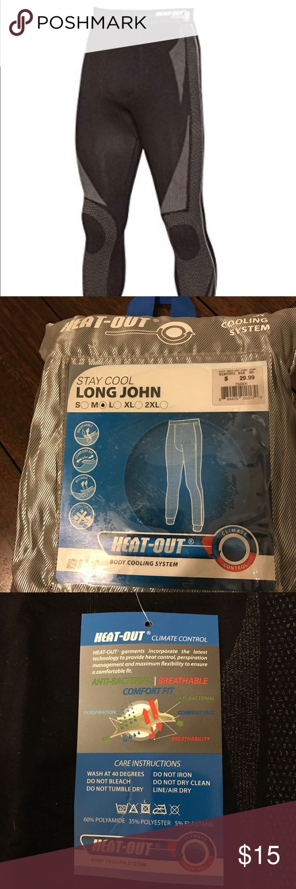 Bilt heat-out under armor Heat-out is a breathable under layer for when in the heat or working out quick dry material is breathable & durable bilt Underwear & Socks