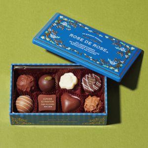 ローズデローズ(ロイヤルブルー) MO-1887 【阪急のバレンタインチョコレート 2018】 | モロゾフ モンクール | 通販なら阪急百貨店オンラインショッピング
