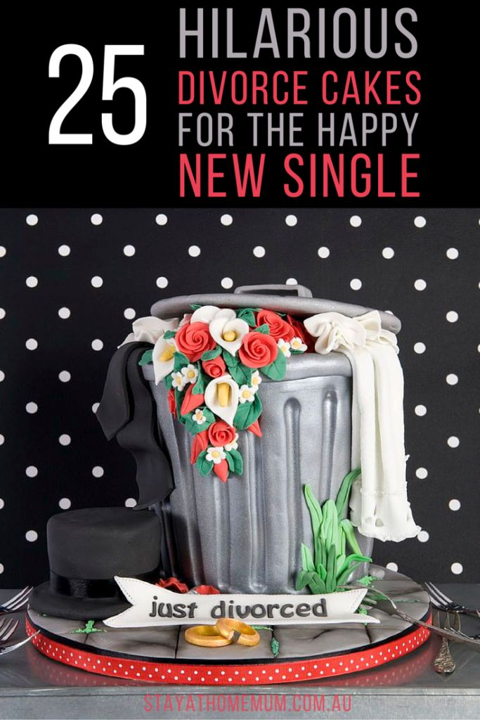 I NOW DO NOT - 25 Hilarious Divorce Cakes for the Happy New Single