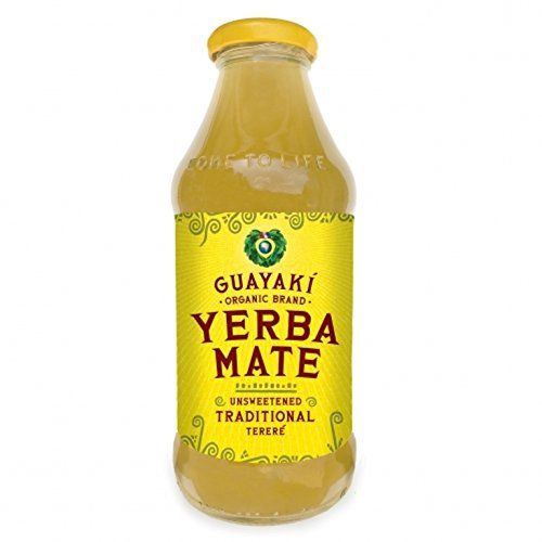 Guayaki Organic Yerba Mate, Unsweetened Mate, 16 Ounce (Pack of 12) * Click on the image for additional details.