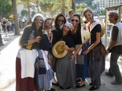 Solleric girls in Es Firo