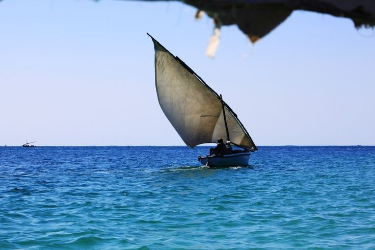 Boats at Ilha de Moçambique