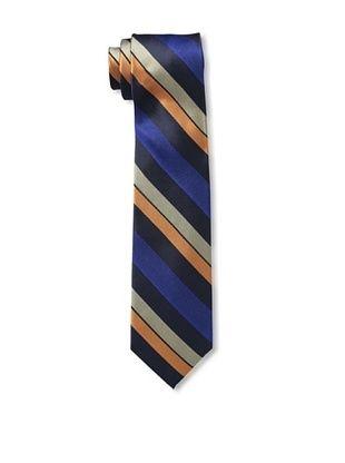 55% OFF Ben Sherman Men's Wide Stripe Tie, Orange