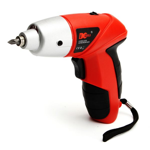 DCTools® 4.8V LED Electric Screwdriver Cordless Power Drill Set Electric Drill Driver Tool US Plug