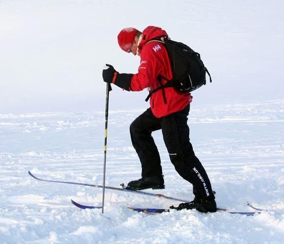 El príncipe Harry se prepara para su expedición al Polo Sur