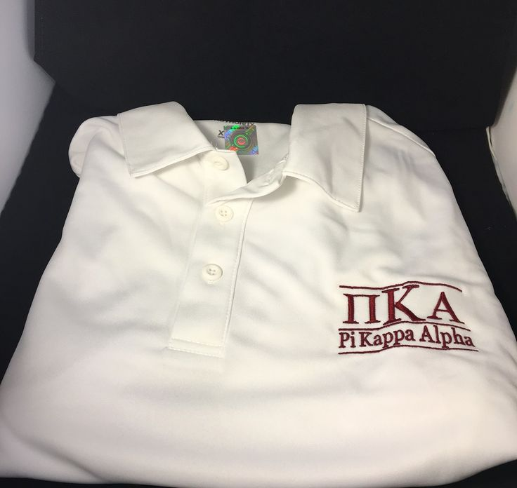 Pi Kappa Alpha PIKE Fraternity Dri-Fit Polo - Brothers and Sisters' Greek Store