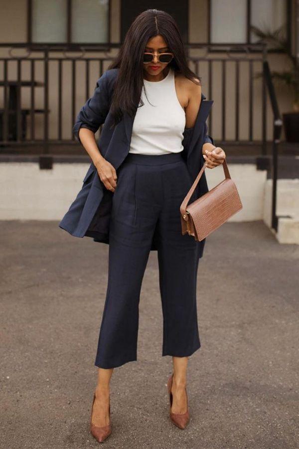 Os looks que queremos usar com a pantacourt na meia estação | Produtos desejo in 2019 | Fashion, Fashion outfits, Autumn fashion