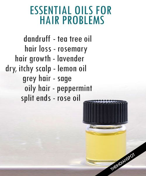 ESSENTIAL OILS FOR HEALTHY SCALP AND HAIR - THE INDIAN SPOT