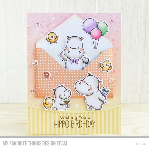 Handmade card from Torico featuring Gift Card Envelope Die-namics #mftstamps