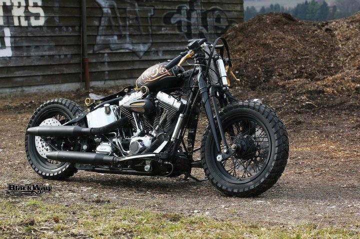 Harley Davidson Softail Rat