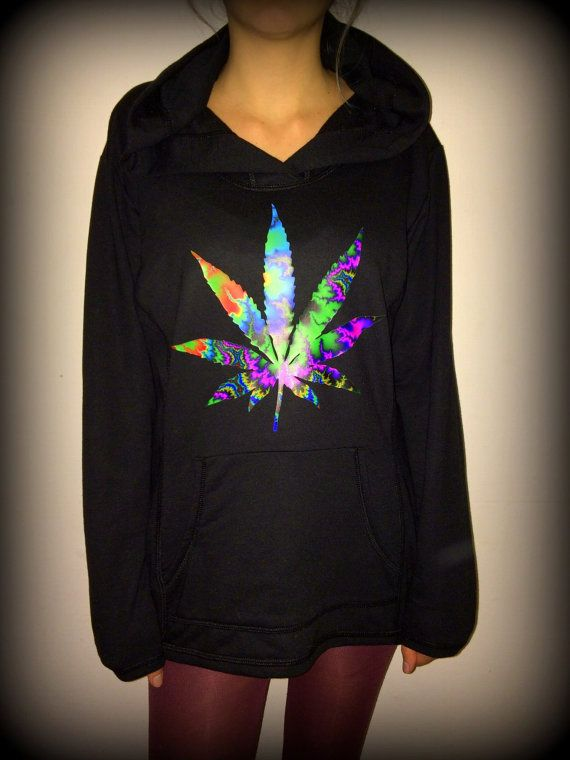 Hey, I found this really awesome Etsy listing at https://www.etsy.com/listing/219419523/trippy-weed-hoodie-dope-cannabis-high