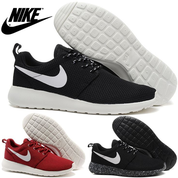 Cheap Running Shoes, Buy Directly from China Suppliers:Nike Roshe Run Men Running Shoes,Sport Athletich Shoes,20 Colors,SIze:40-45,Black And WhiteUS $ 34.99/pairNike Roshe Run