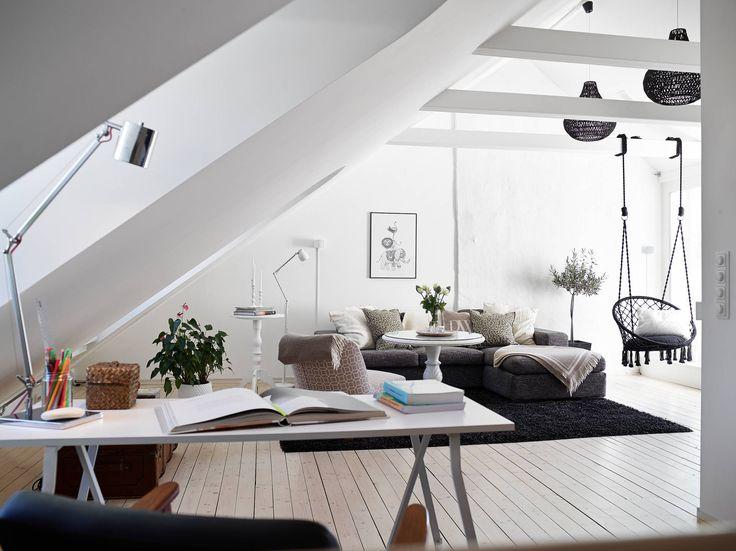 Design scandinave sous les toits | PLANETE DECO a homes world