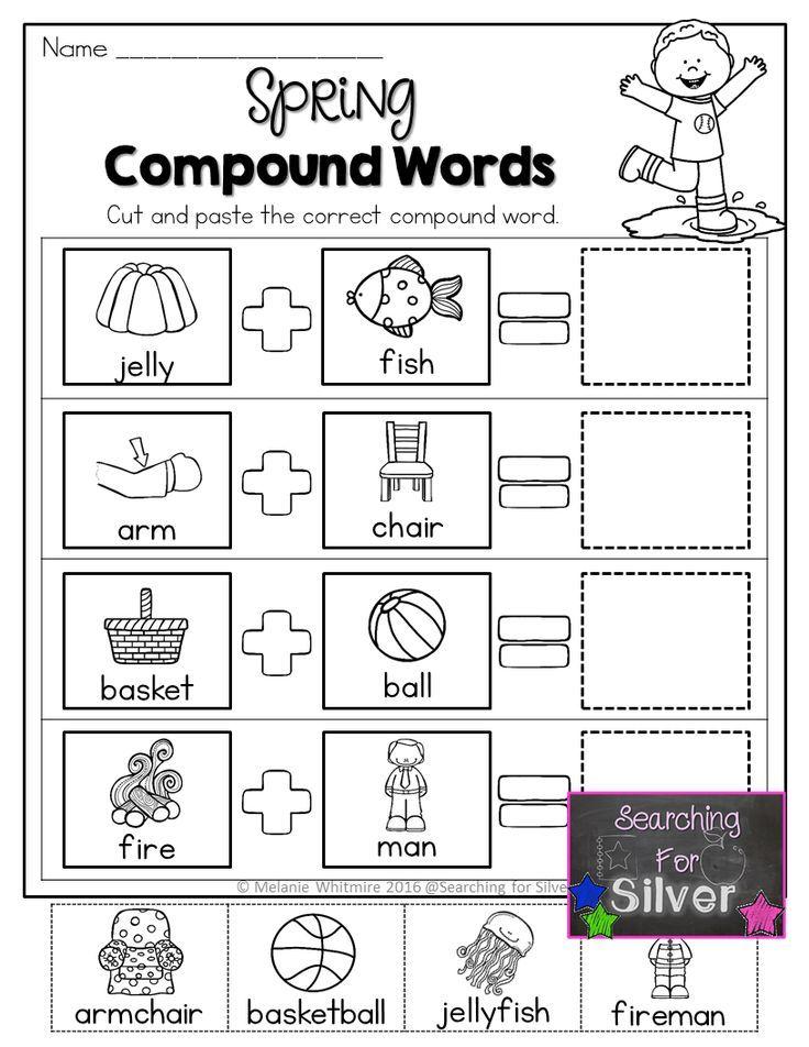 Best 25+ Compound words worksheet ideas on Pinterest
