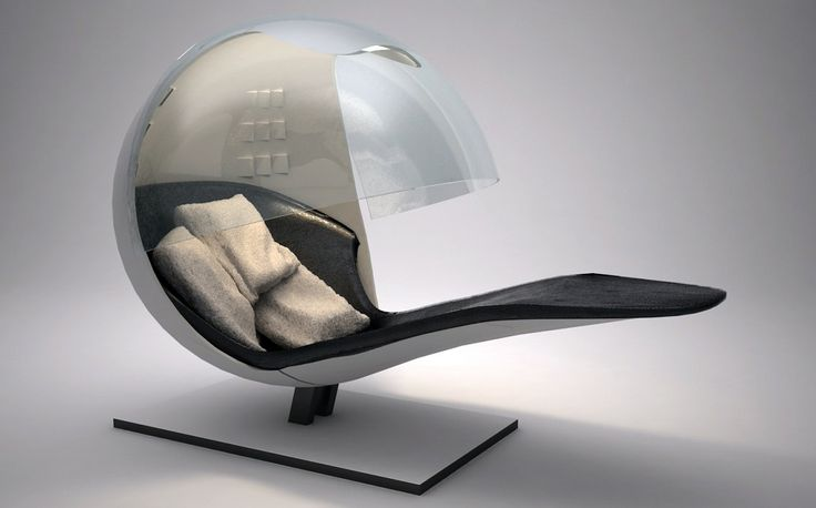Futuristic Chair Style Futuristic Dwellings And Decor - Anglerfish chair with a big lamp