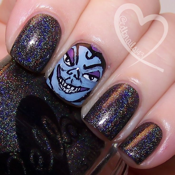 I'll Smash It With A Hammer! by ellagee.com with nail art by cdbnails.