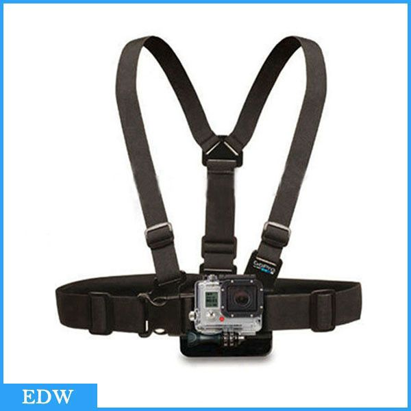 For Gopro Accessories Chest Belt Adjustable Chest Mount Harness Chesty Strap for SJ4000 GoPro HD For Go Pro Accessories hero 1 2