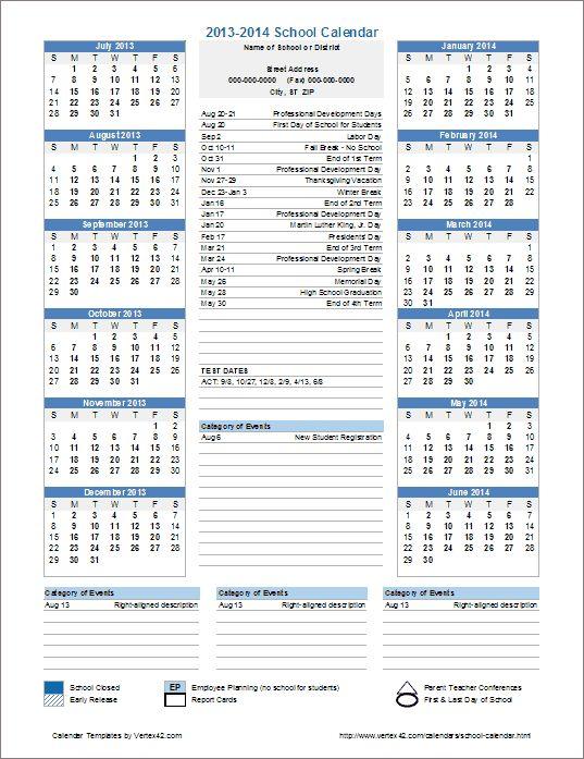 The 25+ best Event calendar template ideas on Pinterest Events - annual calendar template