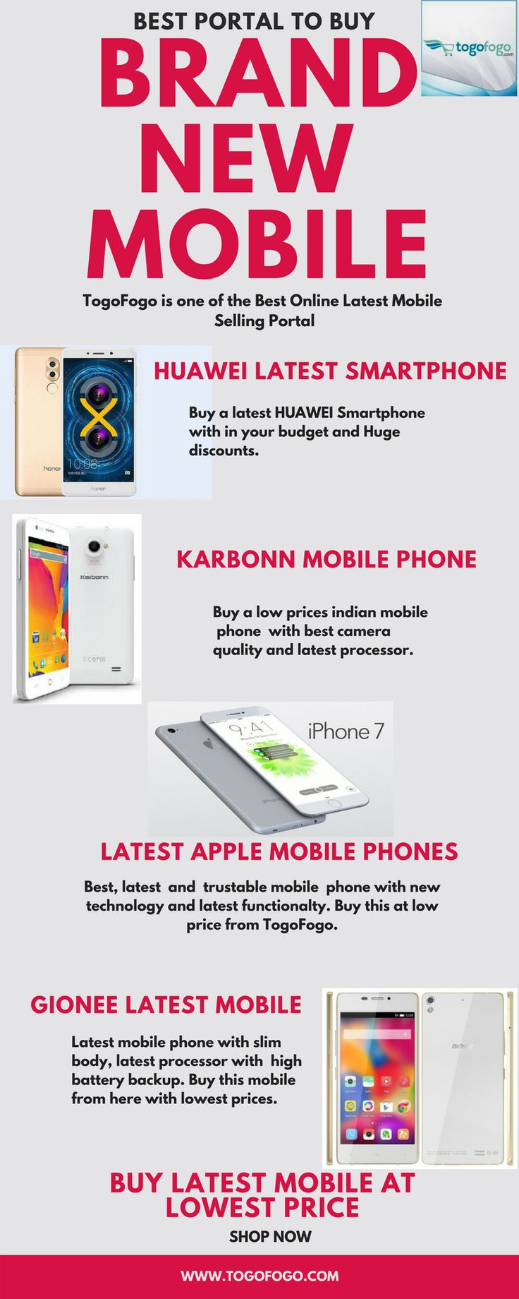 Your smartphones there s big news in the world of mobile shopping - Buy Brand New Mobile Togofogo Is One Of The Best Online Latest Mobile Phone Selling