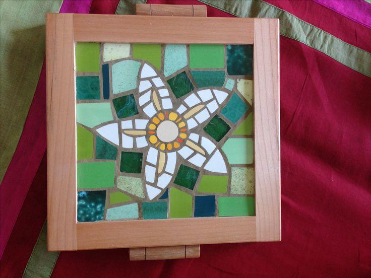 Tabla para queso mi mosaico