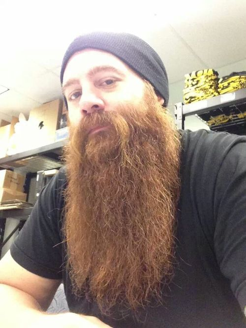 flickr-beard-power:  This guy has been growing his beard for  18 months now. This is exceptional growth and puts us all to shame!  Follow:   http://flickr-beard-power.tumblr.com