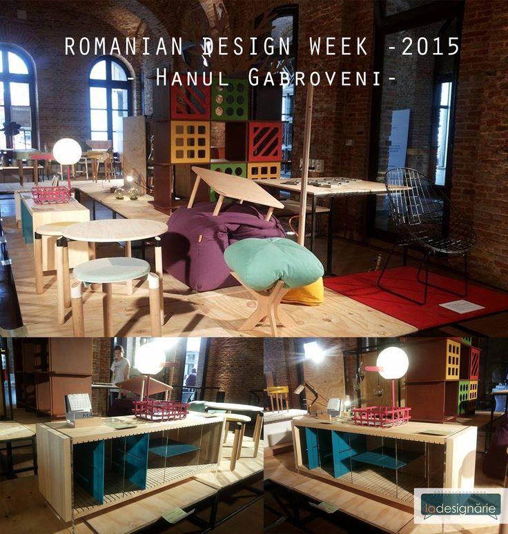La Designarie at RDW 2015  Farbe Sideboard Designer: Alexandra Morosanu