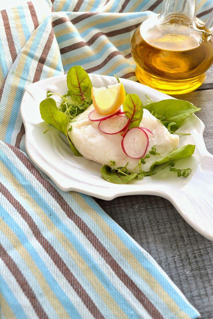 Вкусные домашние обеды: Треска на пару без пароварки