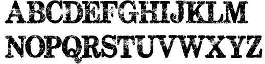 Подборка необычных шрифтов для веб-дизайна.