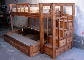 Huge challenge, but I would love to make my loft bed with these stair-drawers (so the pups can get in bed)