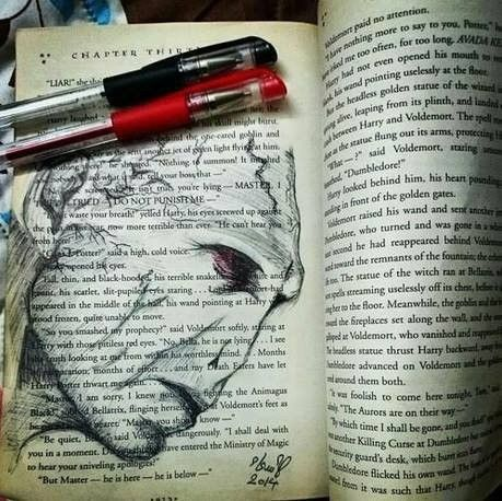 WHY THE HELL WOULD YOU DRAW IN A BOOK?!?!?!?!?!?!?!