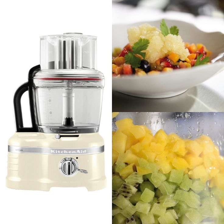"The revolutionary Dicing Kit which comes standard with our Artisan Food Processor, has got people loving ""chopping"" again! Easy to use and ensures your healthy salsas are completed in moments! Onions will be the only ones crying! Much love KitchenAid Africa xx"