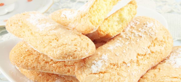 Domáce cukrárenské piškóty - Savoiardi