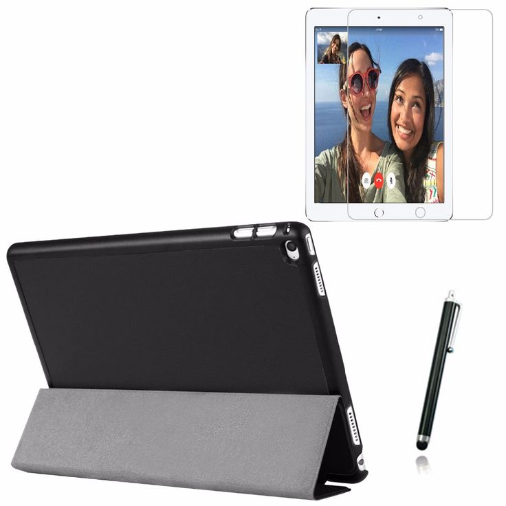 """3in1 Ultra Thin Slim Magnetic Folio Stand Leather Case Smart  Sleeve Cover +1x Film + Stylus For Apple iPad Pro 12.9 2015 12.9"""" #Affiliate"""