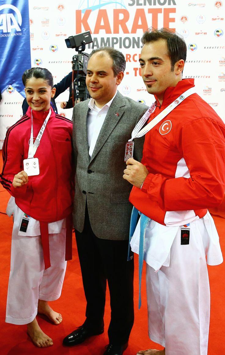 İstanbul'da düzenlenen 50.Avrupa Büyükler Karate Şampiyonası'nda mücadele eden tüm milli sporcularımızı tebrik ederim