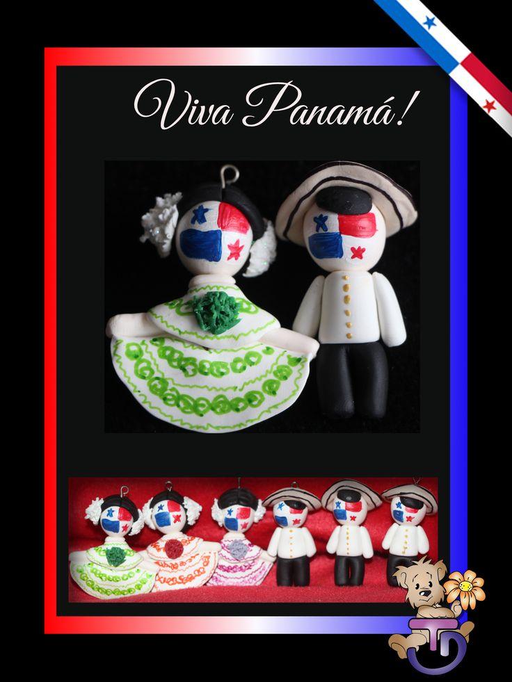 #llavero #panama para fiestas patrias #noviembre #montuno #pollera