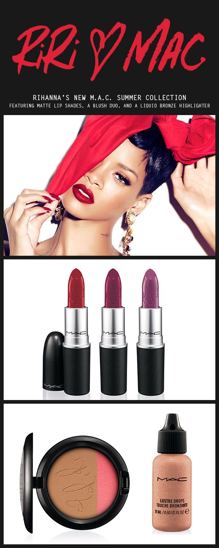 RiRi Hearts MAC: MAC's New Collection Has Us Talking That Makeup Talk