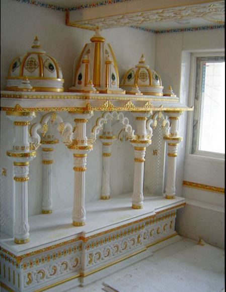 272 best images about pooja room design on pinterest for Marble temple designs for home