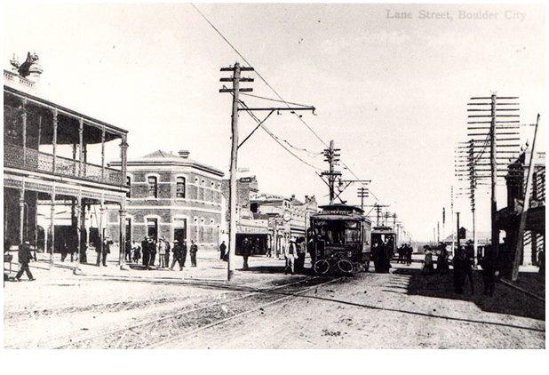 Main Street, Boulder City, Kalgoorlie Gold Fields. W.A.