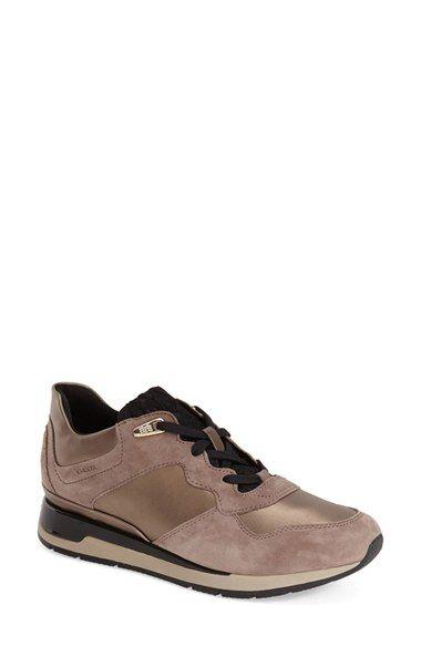 Geox 'Shahira' Sneaker beige · Shoes 2015Sneakers WomenCasual ShoesStilettos AthleticSoleNordstromMetallicBeige