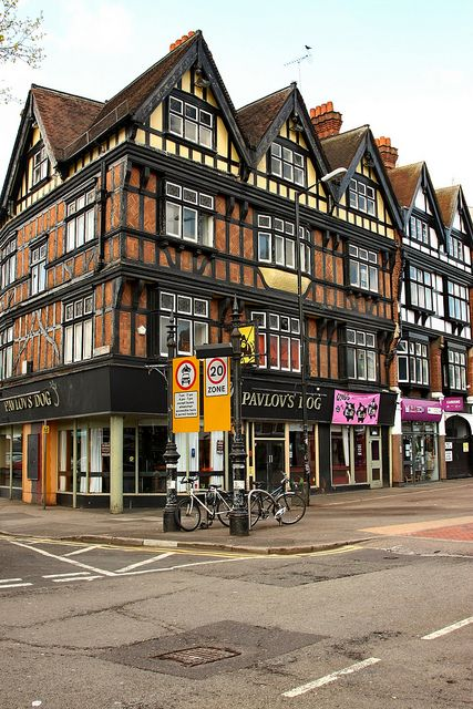 Reading, Berkshire, England. This was for many years The Sun, with a wonderful deli just a few shops along.